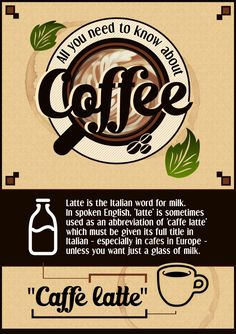 Fun Facts About Coffee [Infographics]