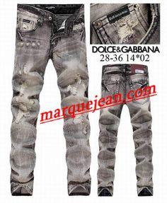 Vendre Jeans Dolce & Gabbana Homme H0095 Pas Cher En Ligne.
