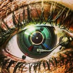 Eye on the MUSIC! dj. #djculture #djart #musicart http://www.pinterest.com/TheHitman14/dj-culture-vinyl-fantasy/