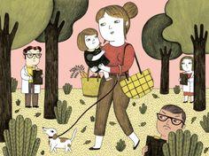 Illustration Friday :: Artist Ana Albero