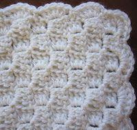 Crochet Border Sea Trail Grandmas: Preemie Crochet Blanket and Hat Horizontal Alternate Blocks Pattern With Scallop or Crab Stitch Crochet Border Crochet Afghans, Crochet Blanket Border, Preemie Crochet, Bag Crochet, Crochet Borders, Crochet Blanket Patterns, Crochet Crafts, Crochet Stitches, Crochet Projects