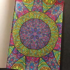 Kleuren voor volwassenen. Roze kleurboek Action - Coloring book, Bruynzeel