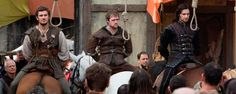 Awww man, Guy of Gisbourne can't be hung!  Number one, I'm pretty sure he was killed in hand to hand combat with Robin Hood in most of the books, and number two, that's Richard Armitage!!