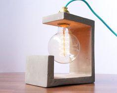 Lampe béton Sculpture                                                       …