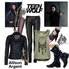 Allison Argent- Teen wolf