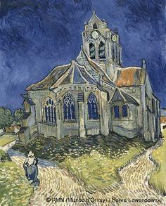 Vincent van Gogh (1853-1890) The Church in Auvers-sur-Oise, View from the Chevet June 1890 Oil on canvas H. 94; W. 74 cm Paris, Musée d'Orsay