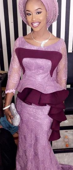 Lace and Ankara dresses. at Diyanu - Ankara Dresses, Shirts & Aso Ebi Lace Styles, African Lace Styles, African Lace Dresses, Kente Styles, Latest African Fashion Dresses, African Inspired Fashion, African Dresses For Women, African Print Fashion, Africa Fashion