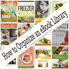 how to organize an ebook library (get a bundle of 97 eBooks for just $29.97 here: http://gretchenlouise.com/ebook-bundle/)