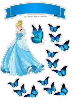 Frozen Paper Dolls, Disney Princess Room, Princess Cake Toppers, Cinderella Birthday, Paper Crafts, Diy Crafts, Stained Glass Projects, Princesas Disney, Cake Art