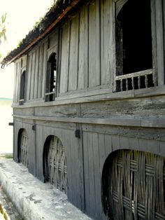 traditional house - rumah adat kampai nan panjang - Balimbing, Sumatra, Indonesia - by selmadisini 2008