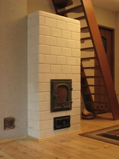 Piece: Ciepły Piec -usługi zduńskie House Tiles, Rocket Stoves, Modern Materials, Building A House, Farmhouse, The Originals, Home Decor, Kitchen, Tiny House Stairs
