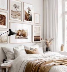 Gallery Wall Inspiration - Shop your Gallery Wall Home Bedroom, Bedroom Wall, Bedroom Decor, Bedroom Signs, Decorating Bedrooms, Decorating Small Spaces, Master Bedrooms, Bedroom Apartment, Bed Room
