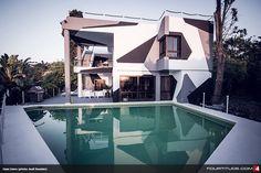 Jon Olsson's camouflage house