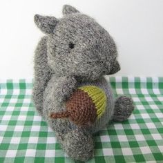 Finsbury Squirrel Knitting pattern by Amanda Berry   Knitting Patterns   LoveKnitting