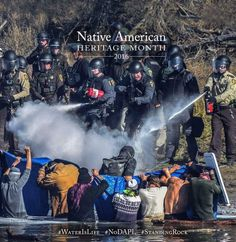 Happening this month in North Dakota as the Standing Rock Sioux and their allies form around the world fight to protect their water and treaty land from the Dakota Access Pipeline.