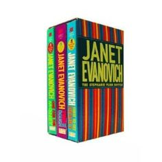 janet evanovich's stephanie plum series. one thru seventeen, so far!! so funny!