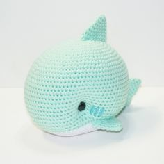 Monty the Shark by Heartstringcrochet.deviantart.com on @DeviantArt