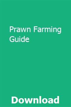 14 Best Prawn Farming images in 2019