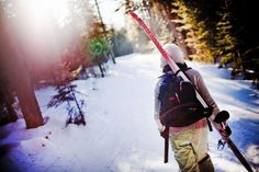 XC Skiing the Maine Huts