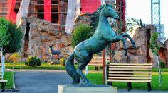 Orășelul Copiilor - Bucureşti Garden Sculpture, Lion Sculpture, Statue, Outdoor Decor, Home Decor, Art, Art Background, Kunst, Interior Design