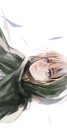 Attack on Titan - Shingeki no Kyojin. Armin~ my favorite, I love him so much~