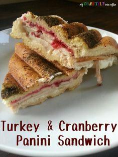 Turkey & Cranberry Panini Sandwiches