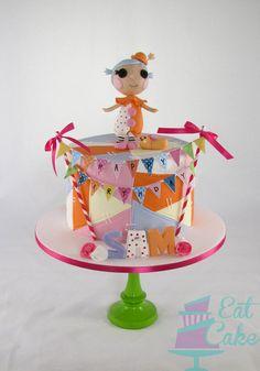 Lalaloopys Littles - by KiwiEatCake @ CakesDecor.com - cake decorating website