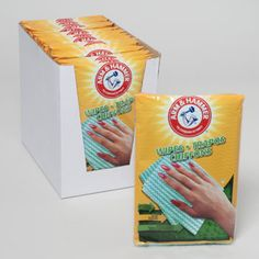 ARM & HAMMER 6ct Reusable Household Wipes / 24 pcs