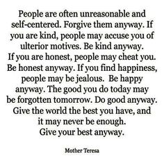 It may never be good enough.  Do your best anyway