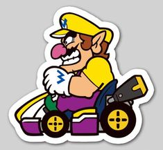 A bunch of screenshots and art have come in for Nintendo Badge Arcade, which was just announced for Europe. Take a look at the various images below. Mario Kart Characters, Cartoon Characters, Mario Sticker Star, Mario Y Luigi, Idee Baby Shower, Nintendo Sega, Super Mario Art, Classic Video Games, Mario Party