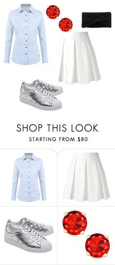 """""""Untitled #471"""" by nikkirozaye on Polyvore featuring DUBARRY, Boutique Moschino, adidas Originals and Reiss"""