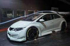 The New Honda Civic Type R Looks Even More Beastly In Touring Car Mode - Motorsport