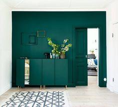 5 fina färgidéer i blått, grönt och grått
