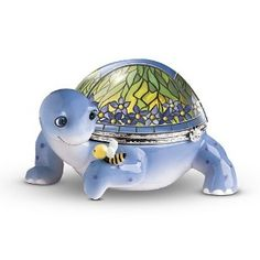 Collectible Music Boxes | Tiffany, The Turtle Collectible Music Box: Perfect Turtle Lover Gift ...
