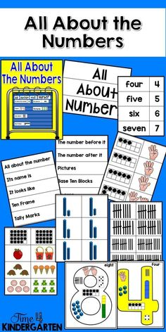 Make your math time engaging with this pack. Add these cards to your number routines, use them to make anchor charts or reduce their size when printing and use them for interactive journals.