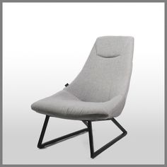 LANCE OCCASIONAL CHAIR in TWILL GREY