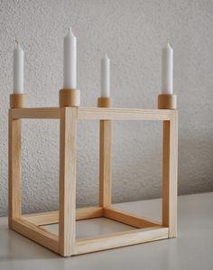 DIY Kerzenhalter von miniKUNST