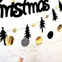 크리스마스 블론디 버블 가랜드