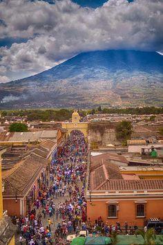 La Ciudad de la Antigua Guatemala siempre impresionante