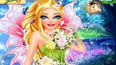 Em Barbie Fada Fashion na Moda, junte-se a Barbie e entre em um mundo mágico e cheio de fantasias. Barbie viajou para o mundo das fadas, é um universo cheio de magica e beleza. E estando lá, Barbie precisa de um visual de fada com muito glamour e glitter. Será que você poderia ajudar nossa amiga Barbie ficar tão linda quanto às fadas?