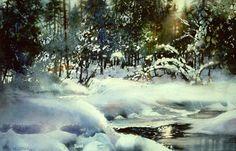 Nita Engle — одна из ведущих художников Америки, родилась в 1926 году в Мичигане. Хорошо известна по акварельным пейзажам. Ее уникальная техника акварели была разработана на основе экспериментов: 'Самое увлекательное в картинах акварелью то, что она движется на бумаге, в отличие от масла'. Пейзажи Северного Мичигана не перестают вдохновлять художницу: 'Так мало осталось нетронутой человеком природы; мы окружены тротуаром.