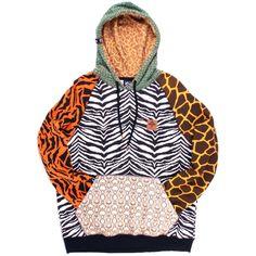 LRG Lifted Research Group Savage Safari Pullover Men s Hooded Sweatshirt