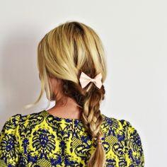 Double Pigtail Braid hair tutorial!