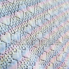 Hand knitted baby sweetheart shawl in pastel stripes - receiving blanket - christening shawl - large baby shawl - baby shower gift This beautiful baby shawl has been hand knitted using King Cole melody yarn. It is a soft, variegated yarn in beautiful p. Christening Blanket, Baby Christening, Knitted Baby, Baby Knitting, Baby Receiving Blankets, Baby Shawl, Knitted Shawls, Christmas Fun, Baby Shower Gifts