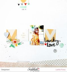 #papercrafting #scrapbooking #layout - by laeti