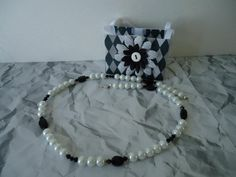 Pearls, bicones and faceted ovals in classic colors with matching gift bag. $15 for the set (+S)