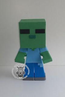 CMK arte em E.V.A: Minecraft