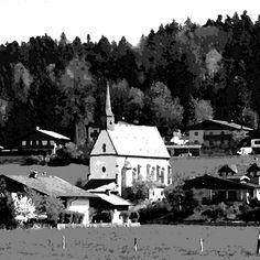 Kirche St. Margarethen Kirchen, Cabin, House Styles, World, Home Decor, The World, Room Decor, Cabins, Home Interior Design