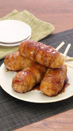 Easy Japanese Recipes, Japanese Food, Onigiri Recipe, Tasty, Yummy Food, Pretzel Bites, Diy Food, Food Videos, Diet Recipes