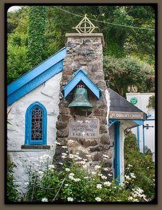 St. Gobban's Church in the village of Portbraddan, Co. Antrim, Northern Ireland